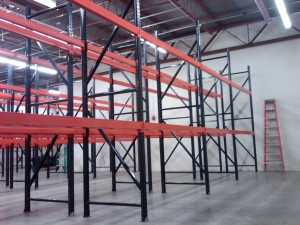 Pallet Racking Removal - Lackland AFB, TX