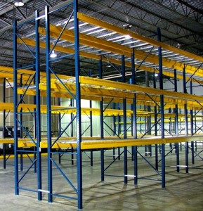West Bexar, TX Warehouse Rack